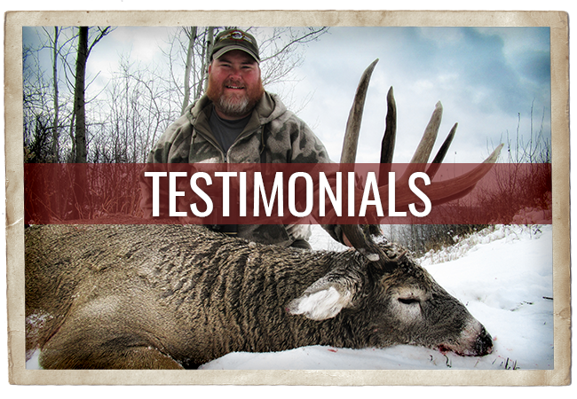 Timber King Outfitting Testimonials