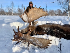 Russia Moose Hunts